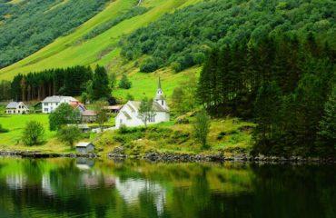 the-fjord groene waterkant