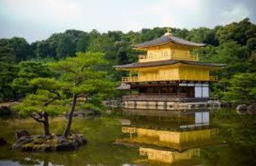 Tempel in water